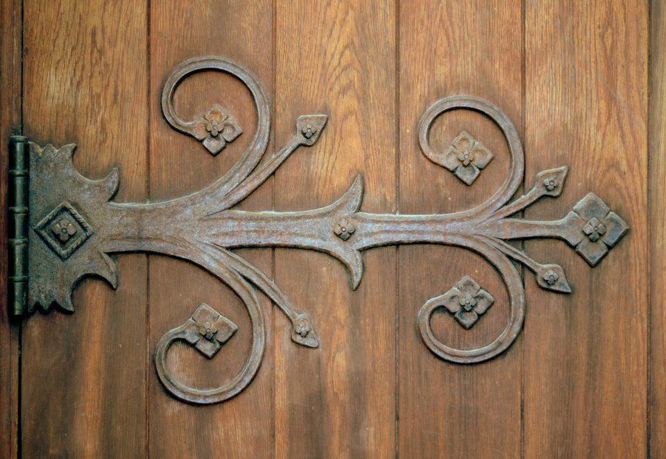 charnière porte décoration